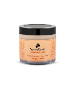 Herbal Face Pack - With Haldi, Chandan