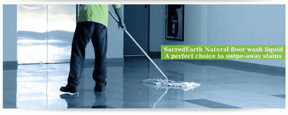 Natural floor wash liquid