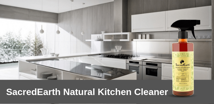 Sacredearth Kitchen Cleaner spray  liquid wash