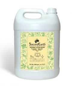 SacredEarth Natural Floor Wash Liquid (front) – 5000ml