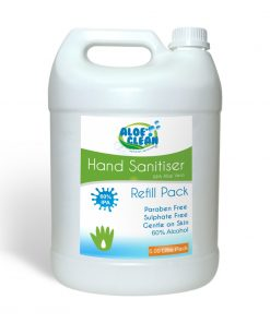 Aloe Clean Hand Sanitizer 5 litre refill pack - front image